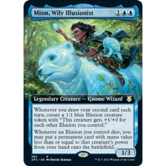 Minn, Wily Illusionist: Rare #285 - Adventures in the Forgotten Realms (Extended Art)