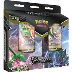 Pokemon: Rayquaza V & Noivern V - V Battle Deck Bundle