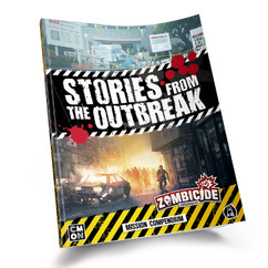 Zombicide Chronicles RPG: Stories from the Outbreak - Mission Compendium (PREORDER)