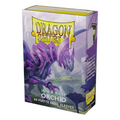 Dragon Shield: Orchid - Japanese Size, Matte Dual Card Sleeves (60ct) (PREORDER)