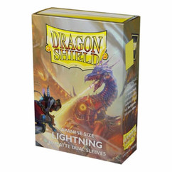 Dragon Shield: Lightning - Japanese Size, Matte Dual Card Sleeves (60ct) (PREORDER)
