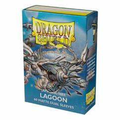 Dragon Shield: Lagoon - Japanese Size, Matte Dual Card Sleeves (60ct) (PREORDER)