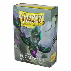 Dragon Shield: Eucalyptus - Japanese Size, Matte Dual Card Sleeves (60ct) (PREORDER)