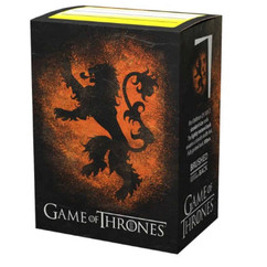 Dragon Shield: Game of Thrones 'House Lannister' - Art, Brushed Card Sleeves (PREORDER)