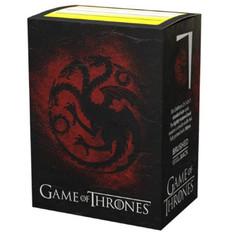 Dragon Shield: Game of Thrones 'House Targaryen' - Art, Brushed Card Sleeves (PREORDER)