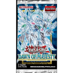 Yu-Gi-Oh!: Dawn of Majesty Booster Pack 1st Edition