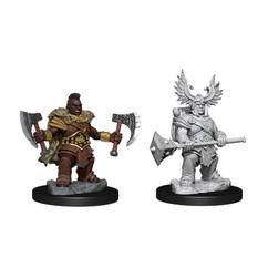 Dungeons & Dragons Miniatures: Frameworks - Female Dwarf Barbarian (Wave 1) (PREORDER)