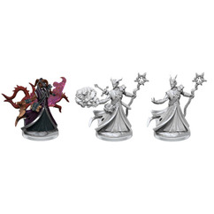 Dungeons & Dragons Miniatures: Frameworks - Male Tiefling Warlock (Wave 1) (PREORDER)