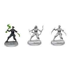 Dungeons & Dragons Miniatures: Frameworks - Female Human Rogue (Wave 1) (PREORDER)
