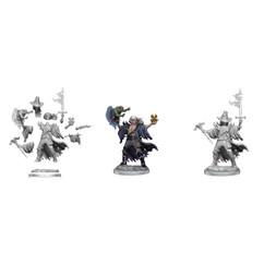 Dungeons & Dragons Miniatures: Frameworks - Male Human Warlock (Wave 1) (PREORDER)