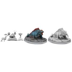 Dungeons & Dragons Miniatures: Frameworks - Basilisk (Wave 1) (PREORDER)
