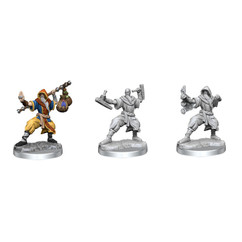 Dungeons & Dragons Miniatures: Frameworks - Male Human Monk (Wave 1) (PREORDER)