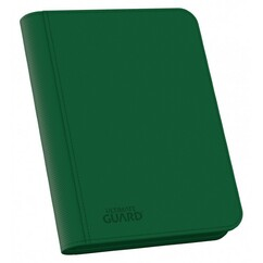 Ultimate Guard: Green Xenoskin Zipfolio 160 (4-Pocket)