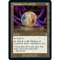 Talisman of Creativity: Uncommon #34 - Modern Horizons 2 (Retro Frame, Foil Etched)