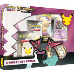Pokemon: Dragapult Prime - Celebrations Collection