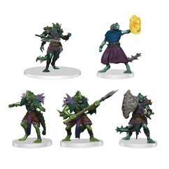 Dungeons & Dragons Miniatures: Icons of the Realms - Sahuagin Warband (PREORDER)