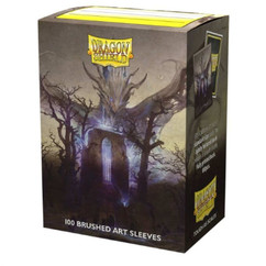 Dragon Shield: Dragons in Art 'Abbey in the Oak Wood' - Art, Brushed Card Sleeves (100ct) (PREORDER)