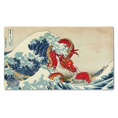 Dragon Shield: Dragons in Art 'The Great Wave' - Playmat (PREORDER)