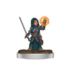Pathfinder Battles Premium Miniatures: Female Halfling Cleric (Wave 3) (PREORDER)