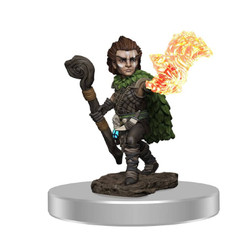 Pathfinder Battles Premium Miniatures: Male Gnome Druid (Wave 3) (PREORDER)