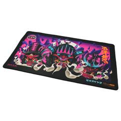 Ultra Pro Playmat: MTG - Kamigawa Neon Dynasty - Black (Stitched) (PREORDER)