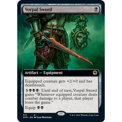 Vorpal Sword: Rare #377 - Adventures in the Forgotten Realms (Extended Art, Foil)