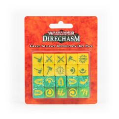 Warhammer Underworlds: Direchasm – Grand Alliance Destruction Dice Pack
