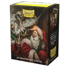 Dragon Shield: Christmas 2021 - Art, Brushed Card Sleeves (100ct) (PREORDER)