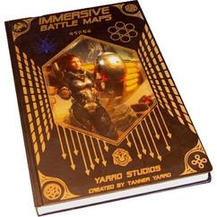 Immersive Battle Maps Vol. II: Space Atlas w/ Sci-Fi Re-Usable Sticker Sheet (Ding & Dent)