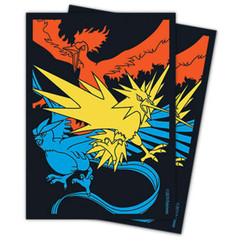 Pokemon: Moltres, Zapdos & Articuno - Card Sleeves (65ct)