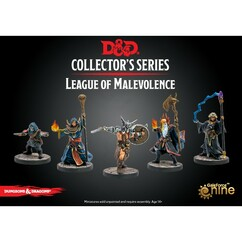 Dungeons & Dragons Miniatures: Collector's Series - The Wild Beyond the Witchlight - League of Malevolence (PREORDER)