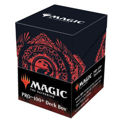 Ultra Pro Deck Box: Magic: The Gathering Mana 7 - Mountain (PRO-100+) (PREORDER)