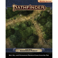 Pathfinder RPG 2nd Edition: Flip-Mat - Enormous Forest (PREORDER)