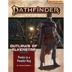 Pathfinder RPG 2nd Edition: Adventure Path #178 - Punks in a Powderkeg (Outlaws of Alkenstar 1 of 3) (PREORDER)