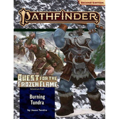 Pathfinder RPG 2nd Edition: Adventure Path #177 - Burning Tundra (Quest for the Frozen Flame 3 of 3) (PREORDER)