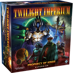 Twilight Imperium 4th Edition: Prophecy of Kings Expansion (Ding & Dent)