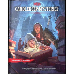 Dungeons & Dragons 5E RPG: Candlekeep Mysteries (Ding & Dent)