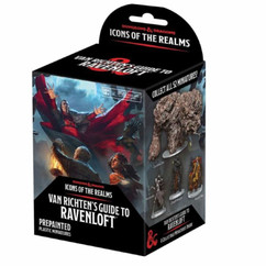Dungeons & Dragons Miniatures: Icons of the Realms #21 Van Richten's Guide to Ravenloft Booster Pack (PREORDER)