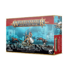 Warhammer Age of Sigmar: Stormcast Eternals - Knight-Judicator with Gryph-hounds