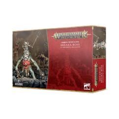 Warhammer Age of Sigmar: Orruk Warclans - Breaka-boss on Mirebrute Troggoth
