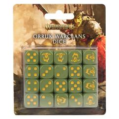Warhammer Age of Sigmar: Orruk Warclans - Dice Set