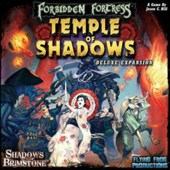 Shadows of Brimstone: Forbidden Fortress - Temple of Shadows Deluxe Expansion (Ding & Dent)