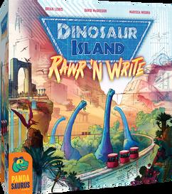 Dinosaur Island: Rawr 'n Write (Retail Edition)