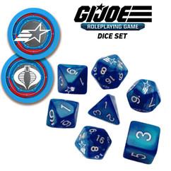G.I. Joe RPG: Dice Set (8) (PREORDER)
