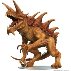 Dungeons & Dragons Miniatures: Icons of the Realms - Gargantuan Tarrasque (PREORDER)