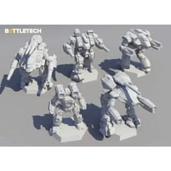 BattleTech: Clan Heavy Star - Miniature Force Pack (PREORDER)