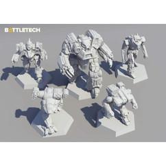 BattleTech: Clan Ad Hoc Star - Miniature Force Pack (PREORDER)