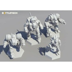 BattleTech: Inner Sphere Support Lance - Miniature Force Pack (PREORDER)