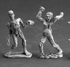 Dark Heaven Legends Miniatures: Zombies (2)