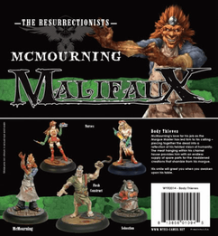 Malifaux: The Resurrectionists - McMourning (Body Thieves)